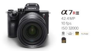 كاميرا سونيAlpha A7R III